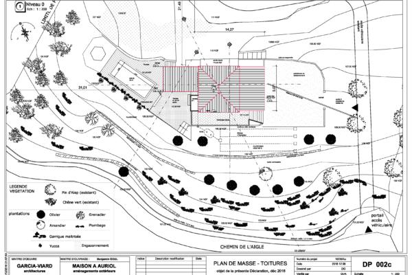 DP002c-Plan masse toitures projet